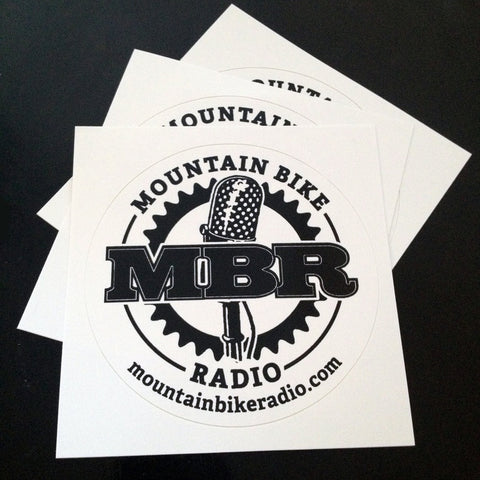 MBR Logo Stickers