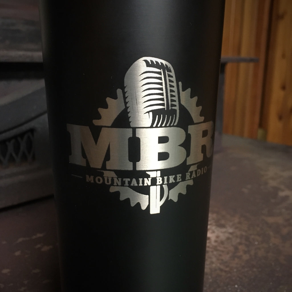 New MBR logo Black Stainless Steel Double Wall Cup (20 oz Black)