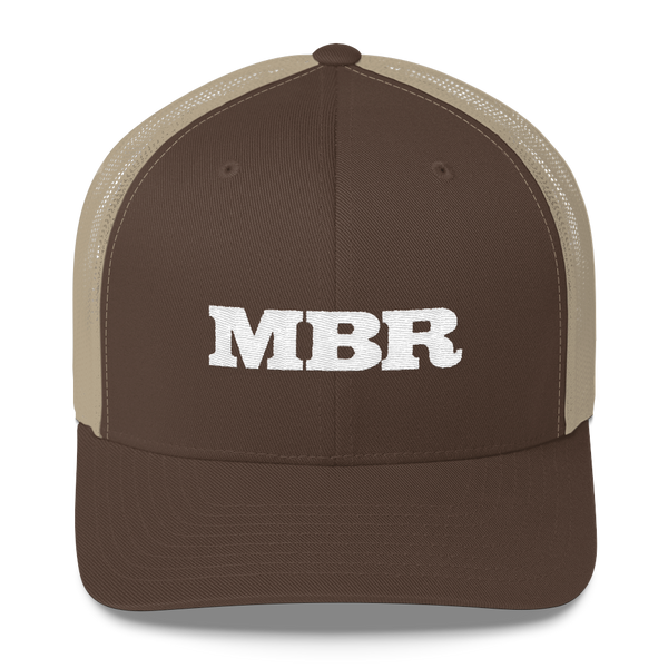 Mountain Bike Radio Retro Trucker Hat
