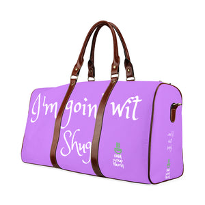 Large Purple Shug Travel Bag