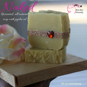 Naked natural soap