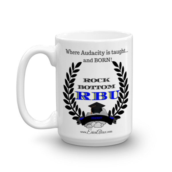 Rock Bottom University Mug