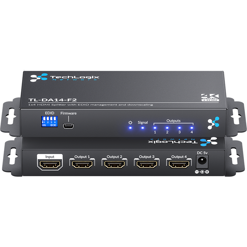 TechLogix Launches HDMI Splitter with Scaling