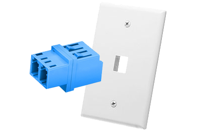 TechLogix Launches Fiber Wallplate Keystone Adapters