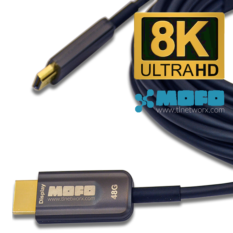 MOFO™ Fiber-based 8K HDMI Cables