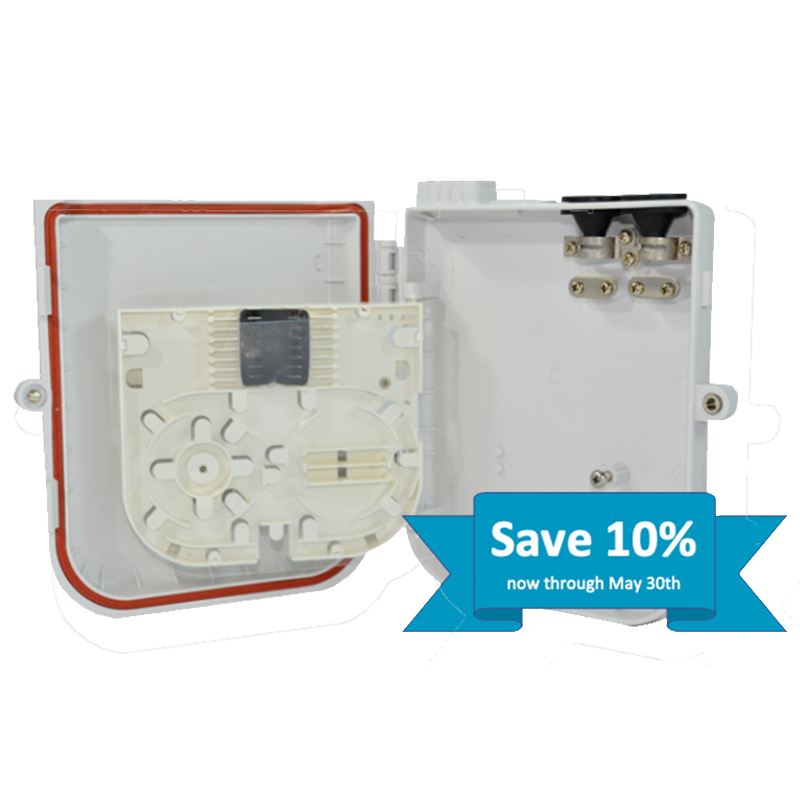 Save 10% on select TechLogix wall-boxes through May 30th