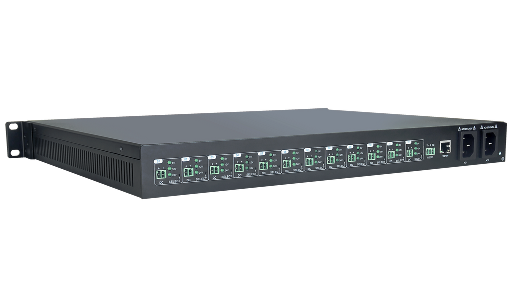 TechLogix Launches 12 port Low Voltage Power Hub