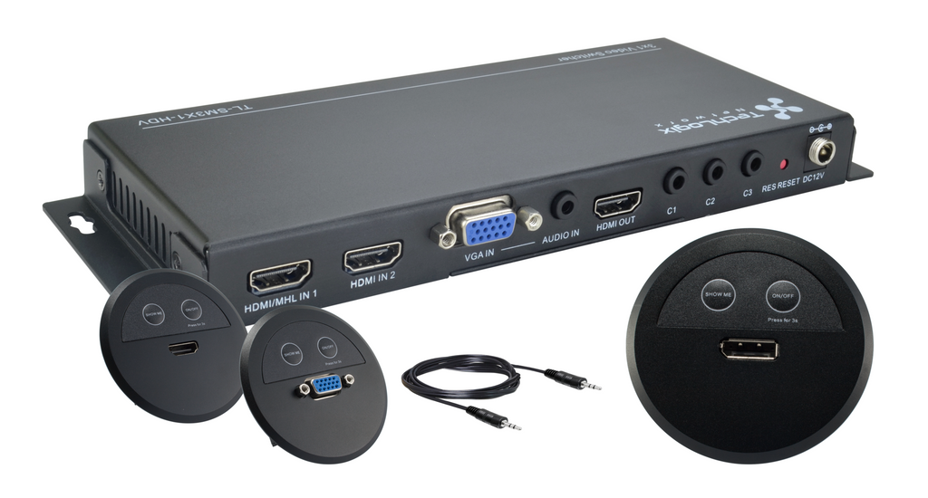 The TechLogix Share-Me™ Series Collaboration System is Now Shipping