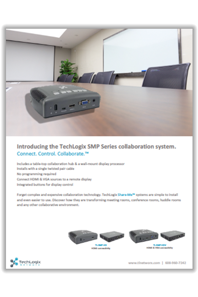 New TechLogix Brochure: SMP Series Share-Me™ System