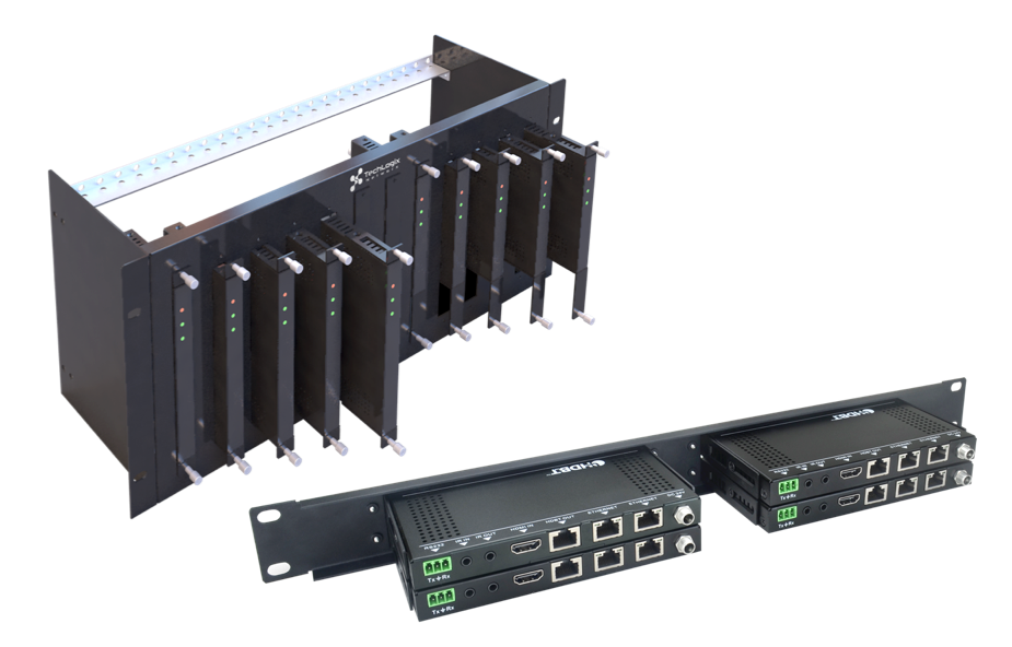 TechLogix Releases Rack Mounting Solutions for Signal Extenders