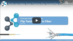 fiber twisted pair video