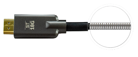 armored HDMI cable