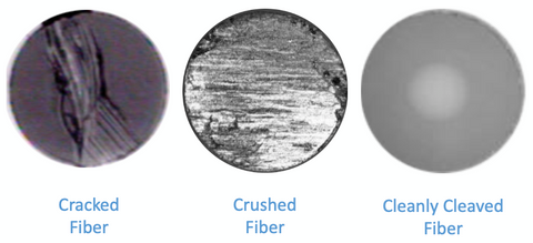 crushed cracked fiber