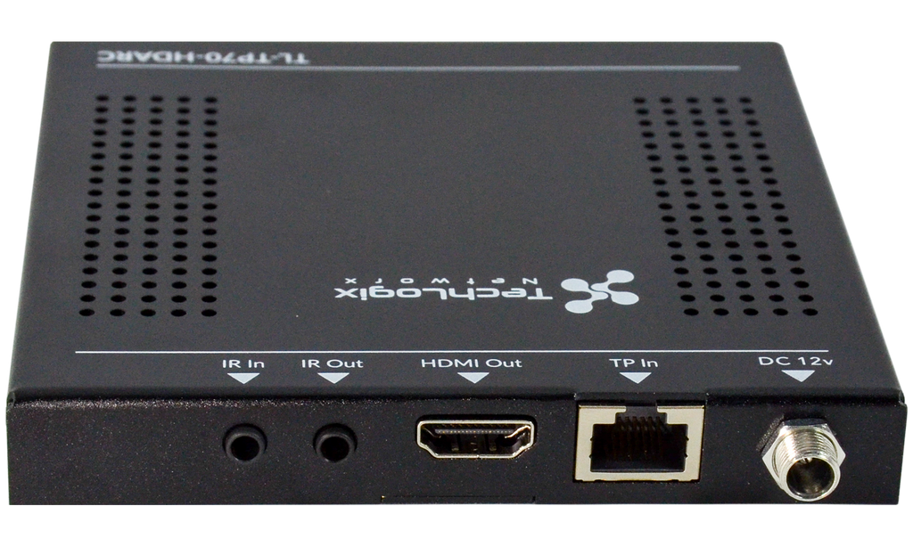 TL-TP70-HDARC Receiver Rear View