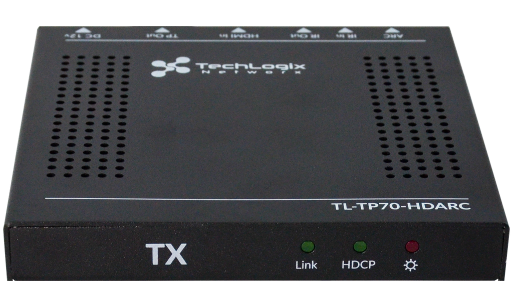 TL-TP70-HDARC Transmitter Front View