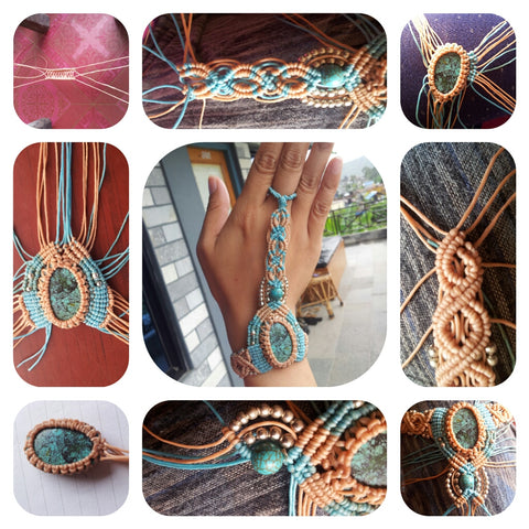 Macrame Om Ethnic Handicraft