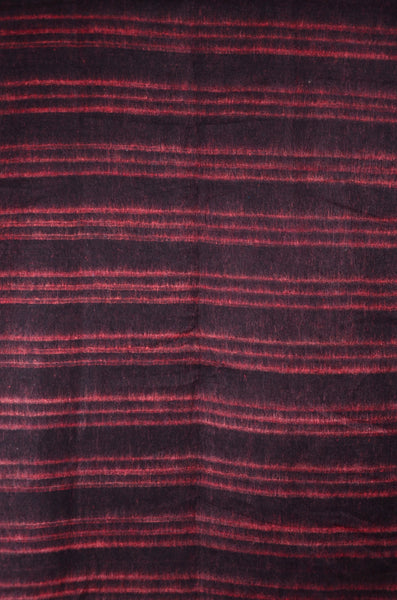 Handmade Red Stripped Pattern Bohemian Scarf