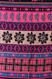 Ethnic Flower Woman Shawl/ Scarf,   織途  , Om Ethnic Handicraft , macrame