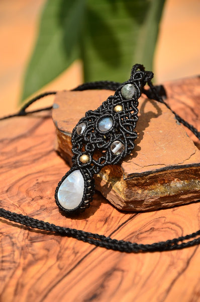 Moonstone Macrame Jewellery