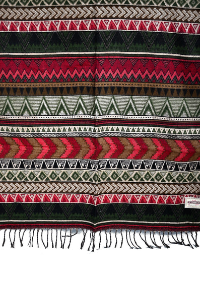 Tribal Yak Wool Bohemian Scarf /Shawl