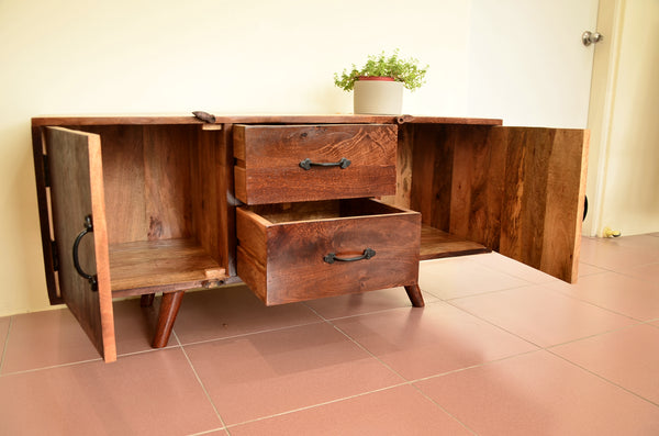Reclaimed Wood TV cabinet,Display cabinet, storage cabinet.