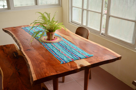 Acacia Live Edge Wood Dinning Table