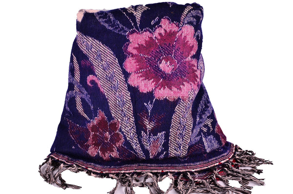 Winter Flower Women Scarf / Shawl