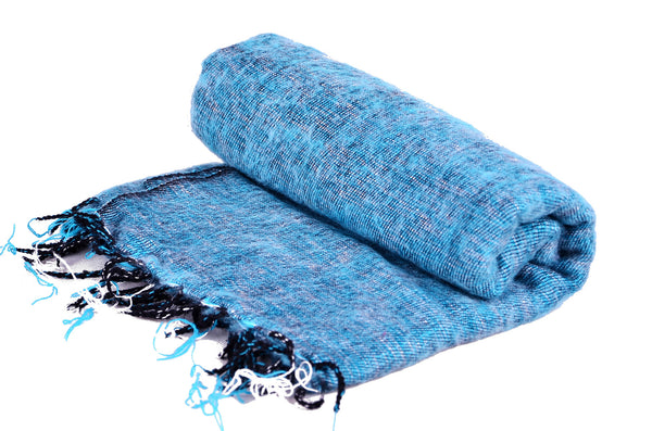 Handmade Yak Simple Plain Scarf, Yoga Accessories