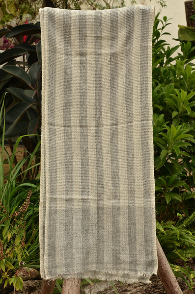 100% Cashmere Natural Muffler Scarf, Unisex Lightweight  Scarf, Fairtrade