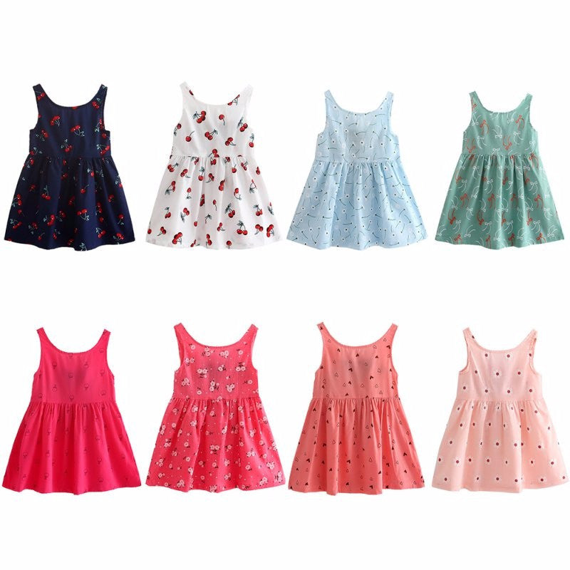 Cute Summer Cotton Dresses (Toddlers & Little Girls)