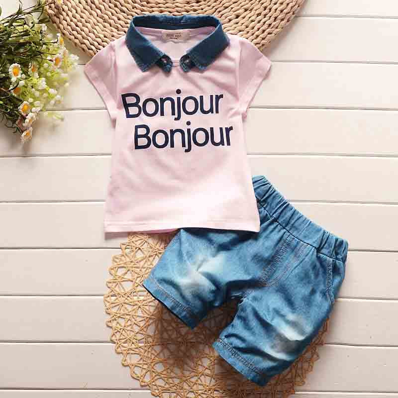 2-Piece Bonjour Top & Short Set