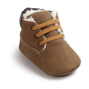 Anti-Slip First Walker Soft Soled Baby Boy Boots