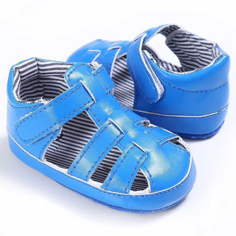 Anti-Slip Soft Sole First Walker Sandals Shoes (0-18 Months)
