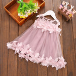 Chiffon Flower Tutu Dress, Baby & Toddler Girls (9M-3T)
