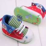 Cute Cartoon Printed High Top Anti-Slip Toddler Sneaker