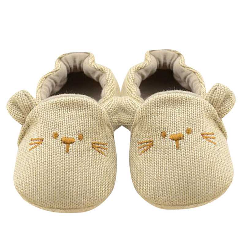Autumn Summer First Walkers Crib Shoes