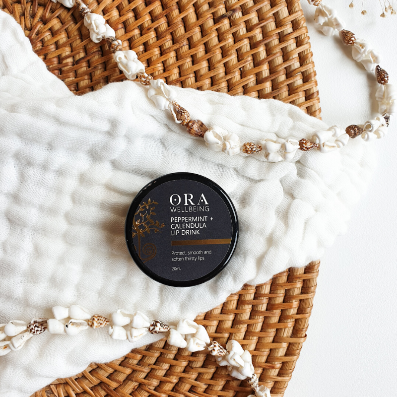 Peppermint & Calendula Lip Drink - Ora Wellbeing