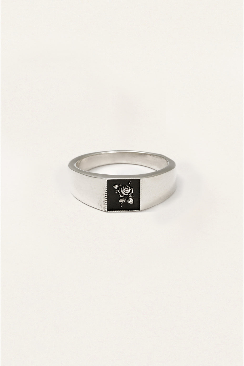 Rose Signet Ring