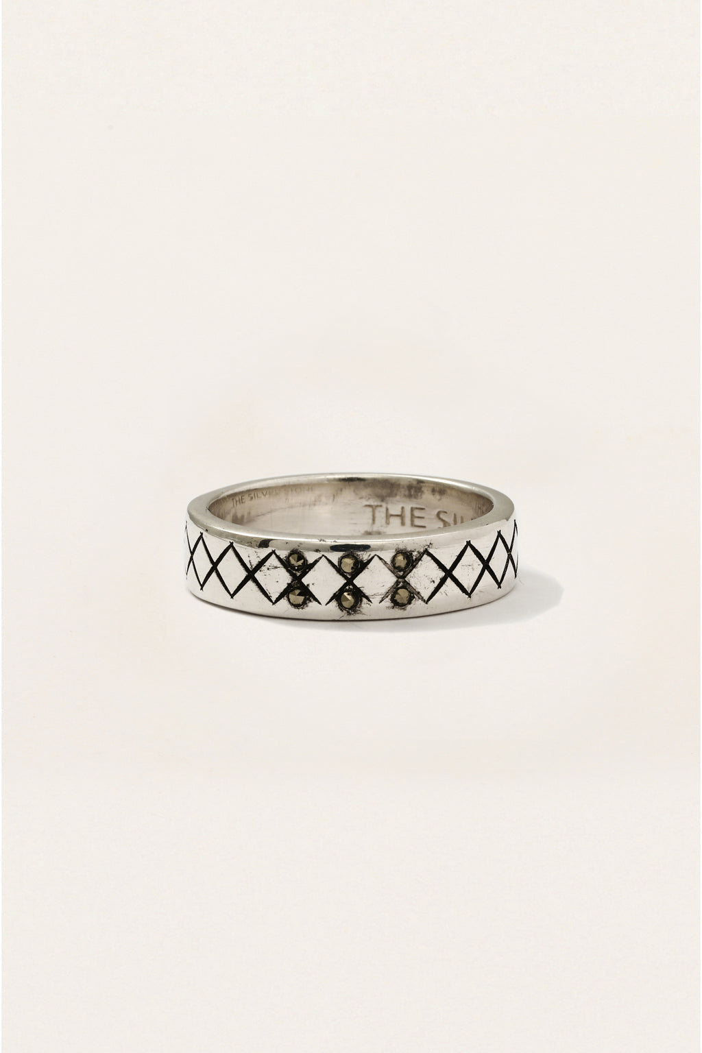 Crosshatch Ring