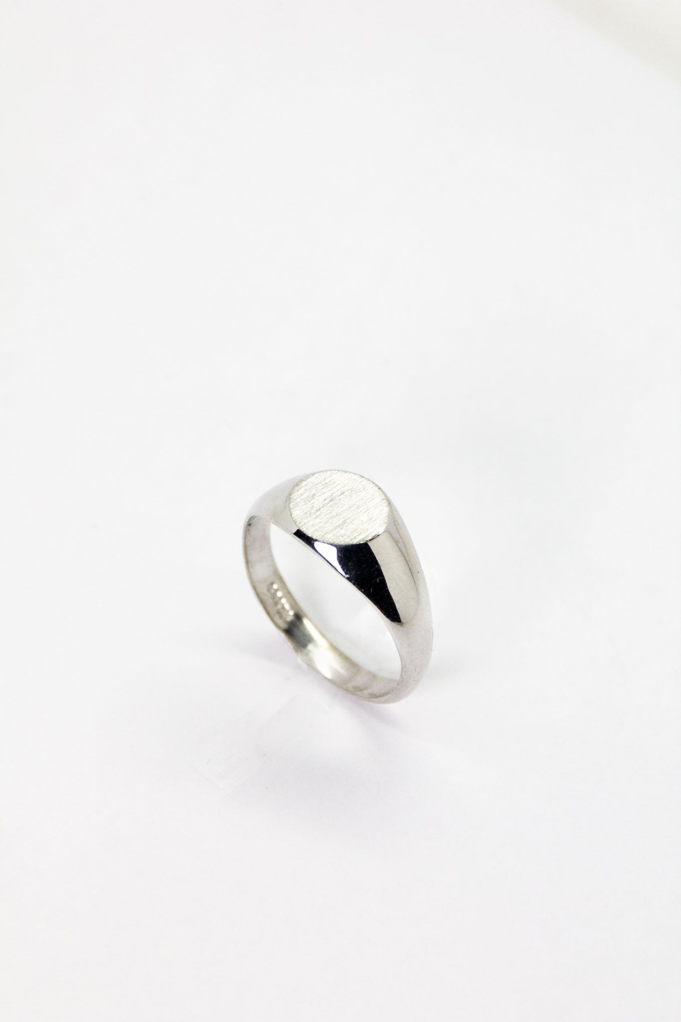 Silver Signet Ring
