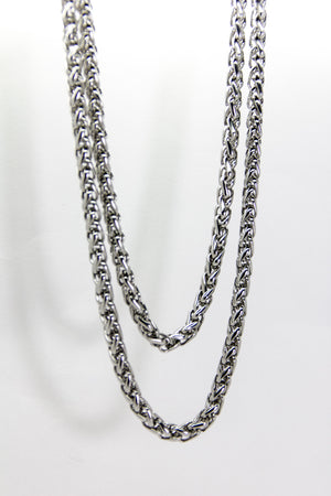 Double Braided Wallet Chain