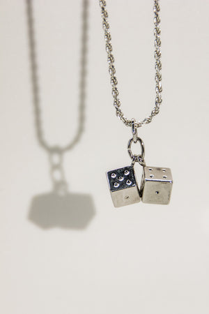 Twin Dice Necklace