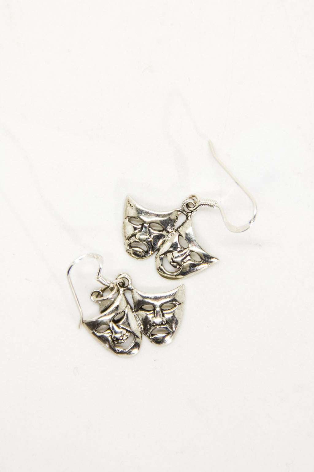 Tragedy Mask Earring