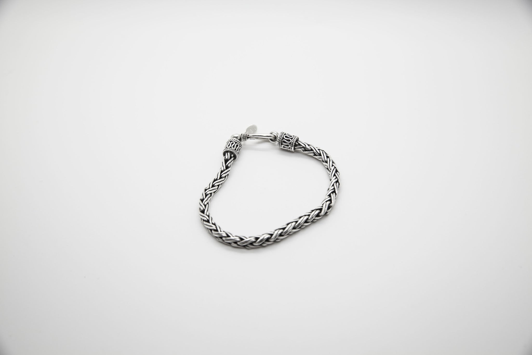 Twisted Bali Bracelet - The Silver Stone