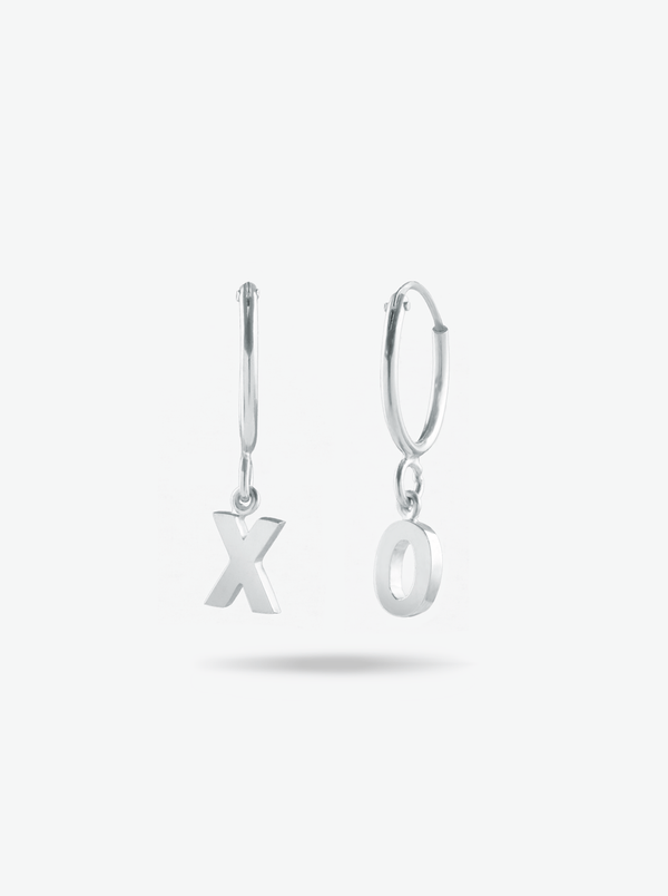 Petite Initial Earrings