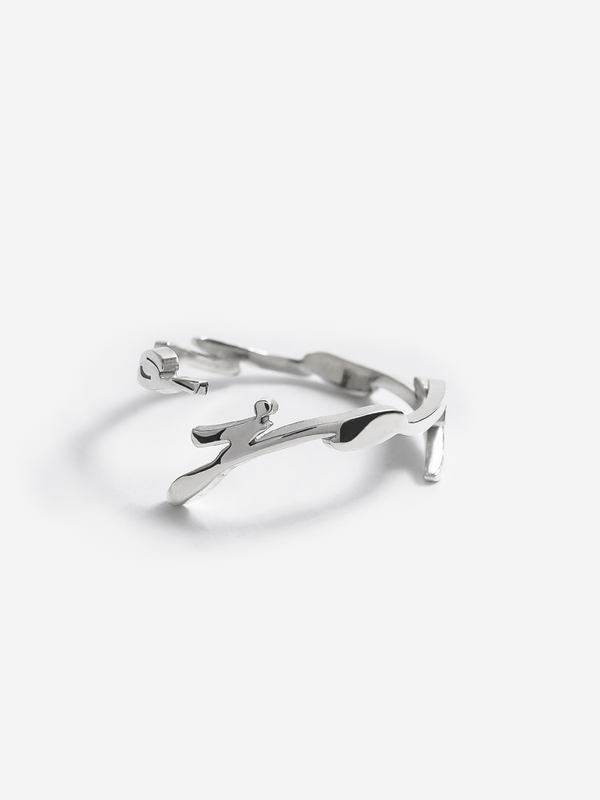 Script Band Ring