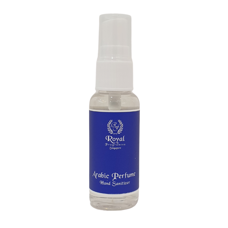 Royal Fragrances Antiseptic Perfume Hand Sanitizer Blue