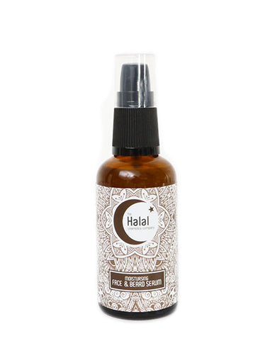 The Halal Cosmetics Company Face and Beard Serum - 50ml