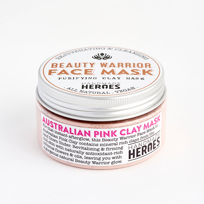 Handmade Heroes - Beauty Warrior Face Mask Australian Pink Clay Mask