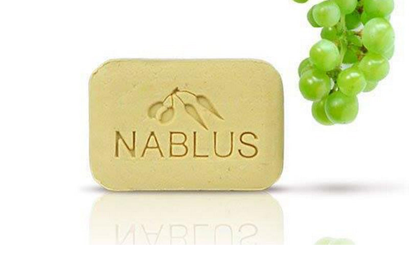 Nablus Natural Olive Oil Soap - Grape